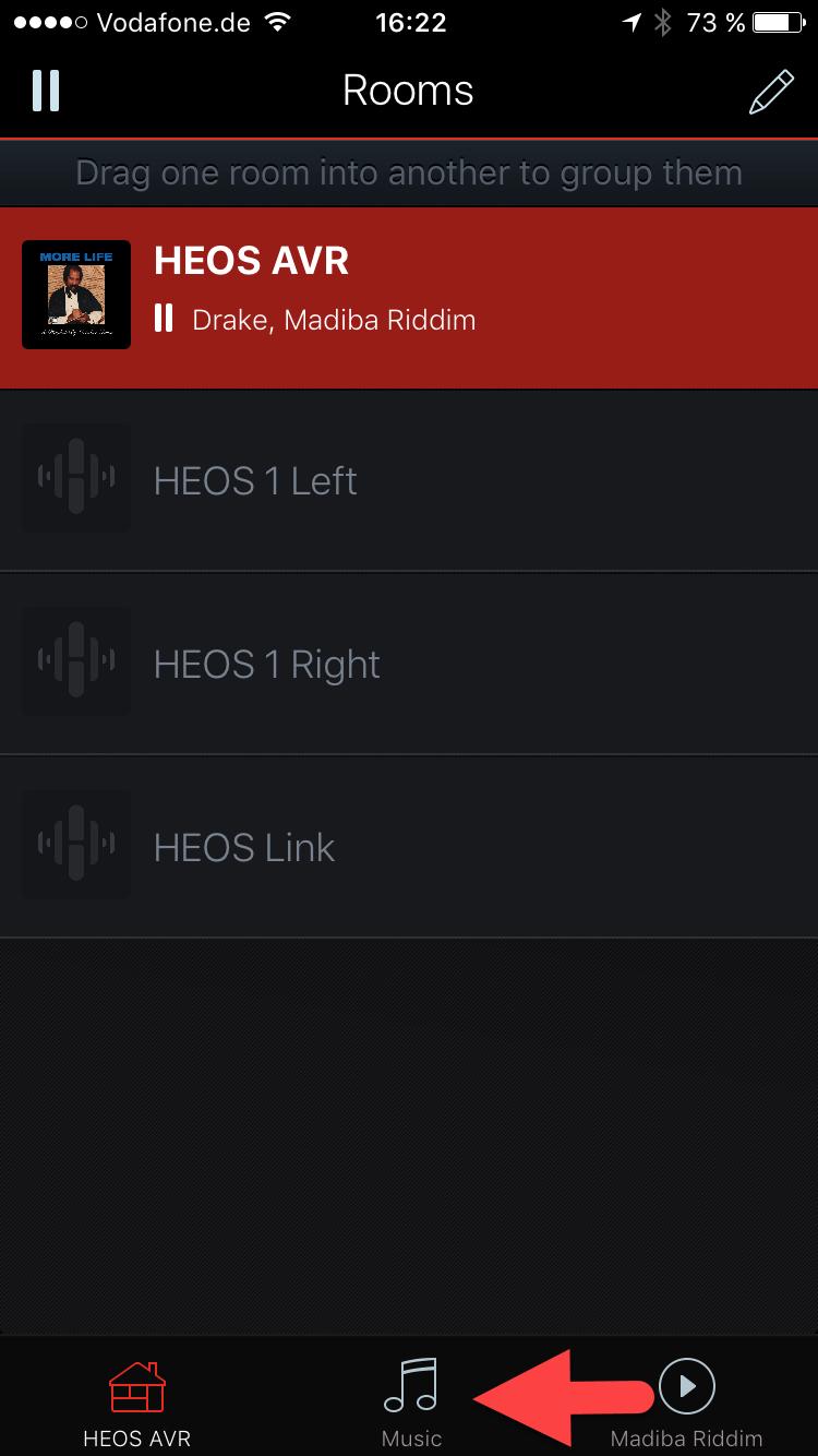 HEOS SURROUND SPEAKER SETUP FOR HEOS AVR