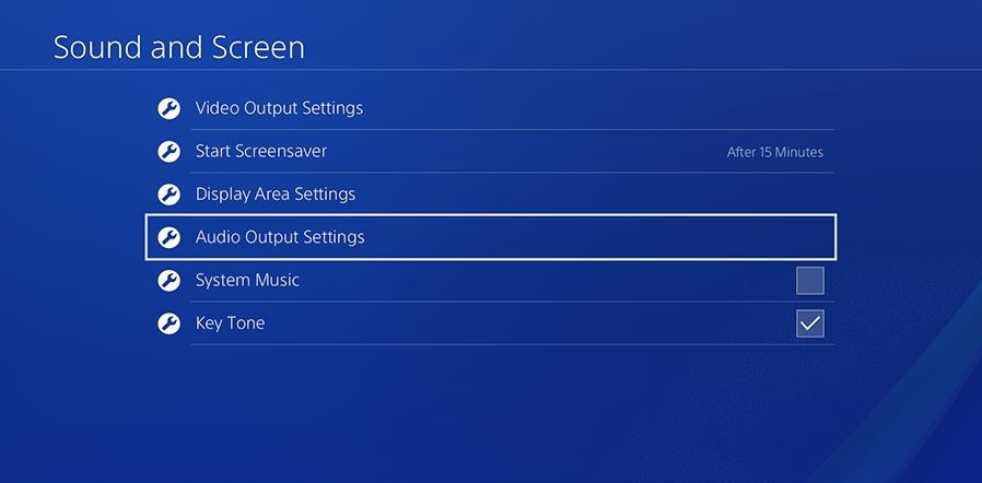 Setting your Sony Playstation 4 to output Bitstream Audio (Dolby