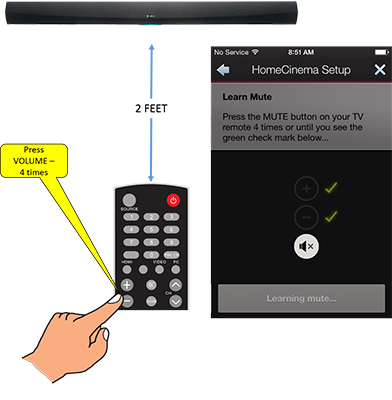 Controlling your Heos HomeCinema using your TV's Remote Control