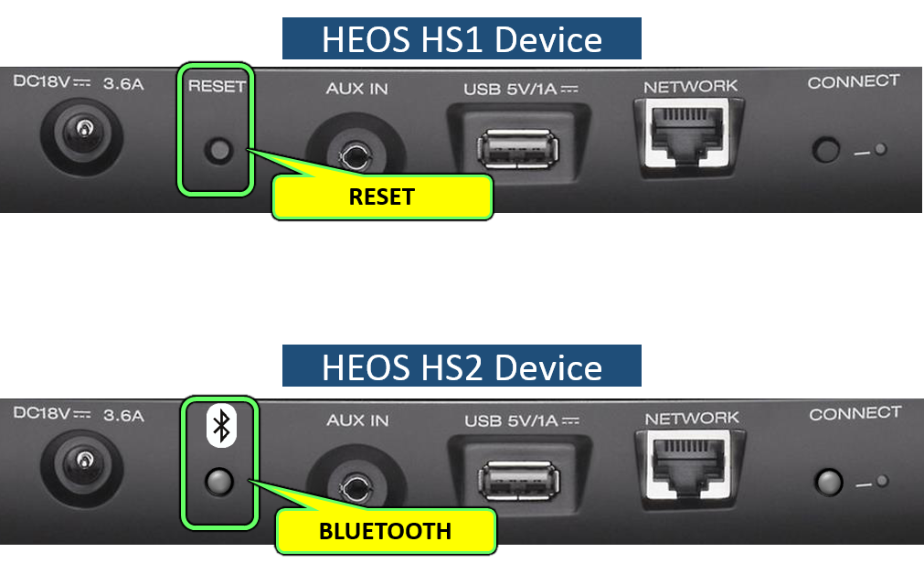 HEOS Wireless Speaker Bluetooth Pairing/Connection